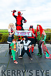 Kingdom Cosplay Festival: Pictured to announce the Kingdom Cocplay Festival to held in the Listowel Arms Hotel on Sunday 28th October were at back Emma Makin, Jay Napper, Shannon McCormick & Emma Tobin. Front : Ethan & Connor McCormick.