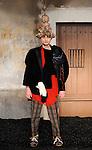 FESTIVAL INTERNATIONAL DE MODE ET DE PHOTOGRAPHIE..Jeunes createurs....Styliste : Isabel Mastache Martinez..Lieu : Villa Noailles..Ville : Hyeres..Le : 01 04 2010..© Laurent PAILLIER / photosdedanse.com..All rights reserved