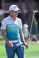 Emiliano Grillo (ARG) after sinking putt on 2 during round 3 of the Honda Classic, PGA National, Palm Beach Gardens, West Palm Beach, Florida, USA. 2/25/2017.<br /> Picture: Golffile | Ken Murray<br /> <br /> <br /> All photo usage must carry mandatory copyright credit (&copy; Golffile | Ken Murray)