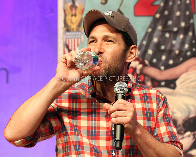WWW.ACEPIXS.COM<br /> <br /> May 30 2015, New York City<br /> <br /> Paul Rudd at BookCon 2015 at Javits Center on May 30, 2015 in New York City.<br /> <br /> By Line: Nancy Rivera/ACE Pictures<br /> <br /> <br /> ACE Pictures, Inc.<br /> tel: 646 769 0430<br /> Email: info@acepixs.com<br /> www.acepixs.com