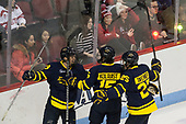 Brett Seney (Merrimack - 13), Jared Kolquist (Merrimack - 15), Sami Tavernier (Merrimack - 25) - The visiting Merrimack College Warriors defeated the Boston University Terriers 4-1 to complete a regular season sweep on Friday, January 27, 2017, at Agganis Arena in Boston, Massachusetts.The visiting Merrimack College Warriors defeated the Boston University Terriers 4-1 to complete a regular season sweep on Friday, January 27, 2017, at Agganis Arena in Boston, Massachusetts.