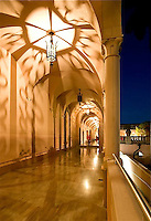EUS- Ringling Museum Courtyard & Arched Walkways During SATW Event, Sarasota Fl 5 12
