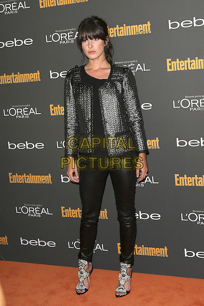 Shenae Grimes<br /> 2013 Entertainment Weekly Pre-Emmy Party held at Fig &amp; Olive Melrose Place, West Hollywood, California, USA, <br /> 20th September 2013.<br /> full length black leather trousers jacket <br /> CAP/ADM/MPI<br /> &copy;MediaPunch Inc./AdMedia/Capital Pictures