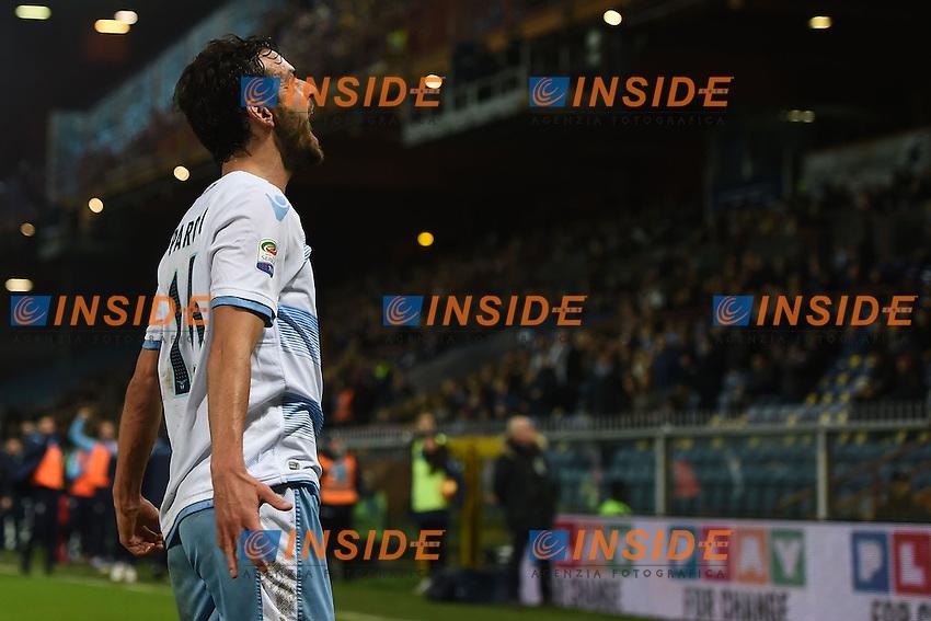 esultanza gol Marco Parolo Lazio Goal celebration <br /> Genoa 10-12-2016 Stadio Marassi Football Calcio Serie A 2016/2017 Sampdoria - Lazio foto Image Sport/Insidefoto