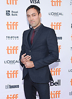 09 September 2017 - Toronto, Ontario Canada - Alex Hassell. 2017 Toronto International Film Festival - &quot;Suburbicon&quot; Premiere held at Princess of Wales Theatre.<br /> CAP/ADM/BPC<br /> &copy;BPC/ADM/Capital Pictures