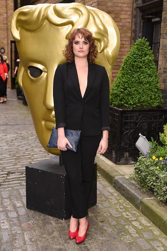 Hannah Britland<br /> arriving for the BAFTA Craft Awards 2018 at The Brewery, London<br /> <br /> ©Ash Knotek  D3398  22/04/2018
