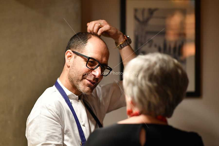 MELBOURNE, 30 June 2017 – Joe Vargetto prepares for a dinner celebrating Philippe Mouchel's 25 years in Australia with six chefs who worked with him in the past at Philippe Restaurant in Melbourne, Australia.