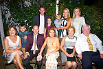 AFTER PARTY: The Flahive held a after wedding party at Flahives Bar,Ballyheigue on Saturday. Front l-r: Mary Flahive,Brandon Leen, Pat Flahive,Claire Godley,Mary Godley and Pat Joe Godley Back :Kieran Godley,katelyn Leen,Alex Leen,Rosalyn Leen and Marian Godley.