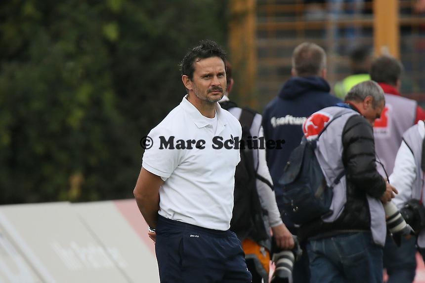 Trainer Dirk Schuster (SV98) - SV Darmstadt 98 vs. FSV Frankfurt, Stadion am Boellenfalltor