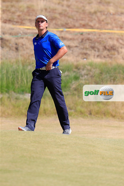 Joost LUITEN (NED) walks to the 9th tee during Saturday's Round 3 of the 2015 U.S. Open 115th National Championship held at Chambers Bay, Seattle, Washington, USA. 6/21/2015.<br /> Picture: Golffile | Eoin Clarke<br /> <br /> <br /> <br /> <br /> All photo usage must carry mandatory copyright credit (&copy; Golffile | Eoin Clarke)