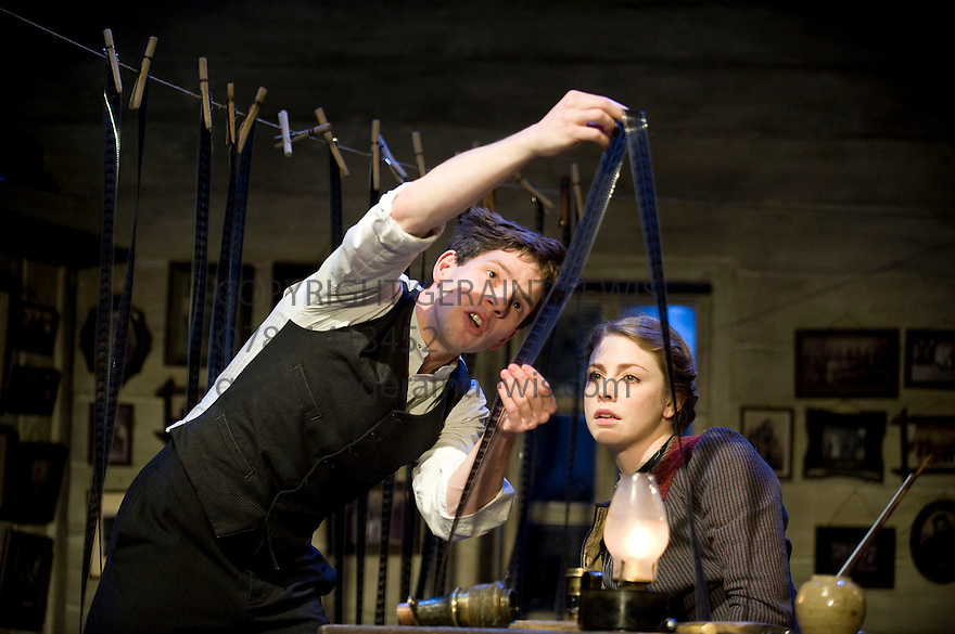 Travelling Light by Nicholas Wright, directed by Nicholas Hytner. With Damien Molony as Motl, Lauren O'Neil as Anna. Opens at The Lyttelton Theatre at The Royal National Theatre on 18/1/12 CREDIT Geraint Lewis
