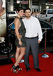 """HOLLYWOOD, CA. - June 02: Actors Jamie-Lynn Sigler and Jerry Ferrera arrive at the Los Angeles premiere of """"The Hangover"""" at Grauman's Chinese Theatre on June 2, 2009 in Hollywood, California."""