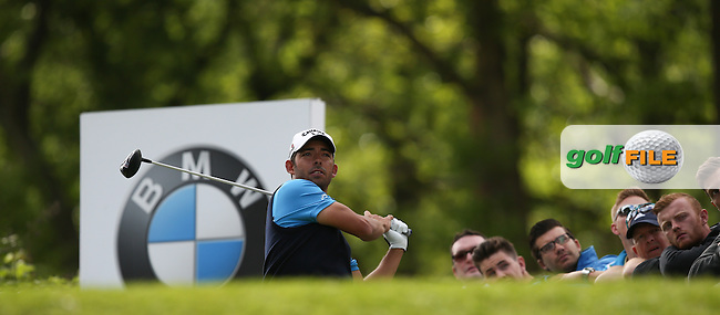 Pablo Larrazabal (ESP) during Round Two of the 2015 BMW PGA Championship over the West Course at Wentworth, Virginia Water, London. 22/05/2015Picture David Lloyd, www.golffile.ie.