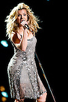 Kimberly Perry of The Band Perry performs at LP Field during Day Four of the 2013 CMA Music Festival in Nashville, Tennessee.
