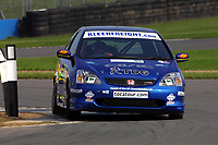 Round 10 of the British Touring Car Championship. #52 James Kaye (GBR). Synchro Motorsport. Honda Civic Type-R.