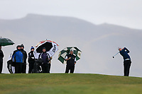Alex Gleeson (Castle) during the SF of matchplay at the 2018 West of Ireland, in Co Sligo Golf Club, Rosses Point, Sligo, Co Sligo, Ireland. 03/04/2018.<br /> Picture: Golffile | Fran Caffrey<br /> <br /> <br /> All photo usage must carry mandatory copyright credit (&copy; Golffile | Fran Caffrey)