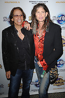 HOLLYWOOD FL - DECEMBER 7 :  Richie Supa and Steven Tyler attends the Bikers Bash at Hard Rock live held at the Seminole Hard Rock hotel & Casino on December 7, 2012 in Hollywood, Florida.  Credit: mpi04/MediaPunch Inc. /NortePhoto /NortePhoto©