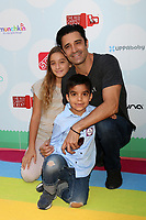 LOS ANGELES - SEP 23:  Juliana Marini, nephew, Gilles Marini at the 6th Annual Red CARpet Safety Awareness Event at the Sony Pictures Studio on September 23, 2017 in Culver City, CA