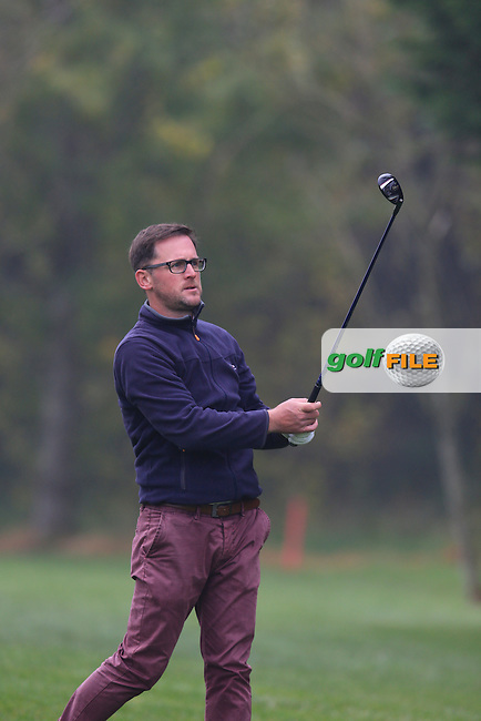 Glen Robinson during the second round of the Irish PGA Championship, Dundalk Golf Club, Dundalk Co Louth. 02/10/2015<br /> Picture Golffile   Fran Caffrey   PGA<br /> <br /> <br /> All photo usage must carry mandatory copyright credit (&copy; Golffile   Fran Caffrey   PGA)