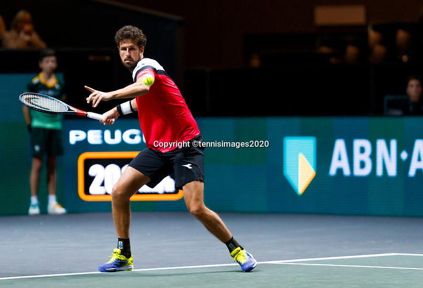 Rotterdam, The Netherlands, 12 Februari 2020, ABNAMRO World Tennis Tournament, Ahoy, Robin Haase (NED). Photo: www.tennisimages.com