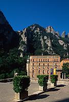 Spanien, Katalonien,  Montserrat, Kloster