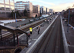 Brussels-Etterbeek - Belgium, January 29, 2017; <br /> Train / railway station  <br /> Photo: © HorstWagner.eu