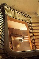 Europe/France/Midi-Pyrénées/32/Gers/Auch:  Musée des Jacobins - L'escalier
