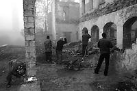 """Nagorno-Karabakh is a region in the South Caucasus. It encompasses the Nagorno-Karabakh Republic, an unrecognised, but de facto independent republic, which under international law is officially part of the Republic of Azerbaijan. .""""Le Vingtieme Anniversaire » - Un portrait de Chouchi, une ville du Caucase du Sud 20 ans après sa «libération» par les combattants arméniens pendant la guerre civile pour l'indépendance du Haut-Karabakh (1991-1994)."""