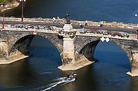 Europe/France/Pays de la Loire/49/Maine-et-Loire/ Angers: le Pont de Verdun sur la Maine