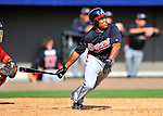 4 March 2011: Atlanta Braves outfielder Jose Constanza in action during a Spring Training game against the Washington Nationals at Space Coast Stadium in Viera, Florida. The Braves defeated the Nationals 6-4 in Grapefruit League action. Mandatory Credit: Ed Wolfstein Photo