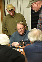 NWA Democrat-Gazette/FLIP PUTTHOFF<br />Ray Atkinson (center) teaches an advanced class.
