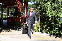 SÃO PAULO, 29.07.2013SP_Time do São Paulo embarca para Munique, na Alemanha, onde disputará a Copa Audi.(Foto: Adriano Lima / Brazil Photo Press).
