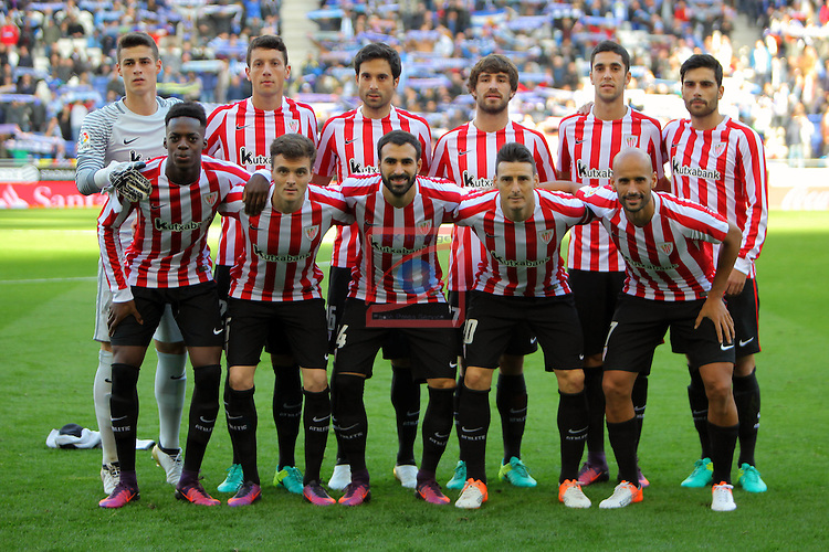 League Santander 2016/2017. Game: 11.<br /> RCD Espanyol vs Athletic Club: 0-0.