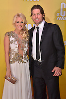 NASHVILLE, TN - NOVEMBER 1: Carrie Underwood and Mike Fisher on the Macy's Red Carpet at the 46th Annual CMA Awards at the Bridgestone Arena in Nashville, TN on Nov. 1, 2012. © mpi99/MediaPunch Inc. ***NO GERMANY***NO AUSTRIA***