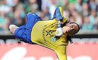 FUSSBALL   1. BUNDESLIGA   SAISON 2011/2012   34. SPIELTAG SV Werder Bremen - FC Schalke 04                       05.05.2012 Torwart Tim Wiese (SV Werder Bremen)
