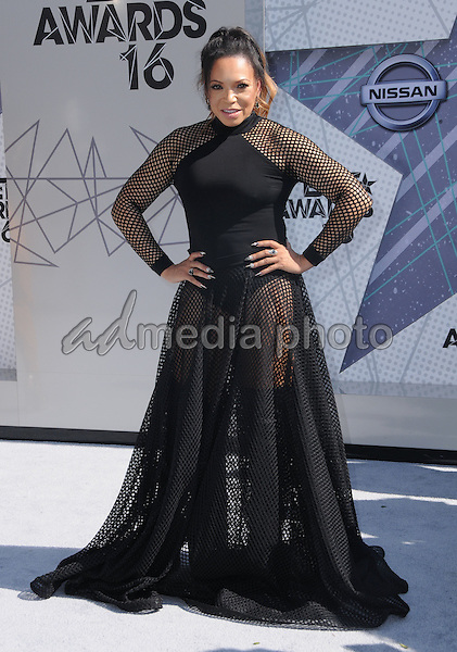 26 June 2016 - Los Angeles. Tisha Campbell. Arrivals for the 2016 BET Awards held at the Microsoft Theater. Photo Credit: Birdie Thompson/AdMedia