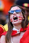 Spain fans (ESP), JUNE 13, 2014 - Football / Soccer : FIFA World Cup Brazil 2014 Group B match between Spain 1-5 Netherlands at Arena Fonte Nova in Salvador, Brazil. (Photo by D.Nakashima/AFLO)