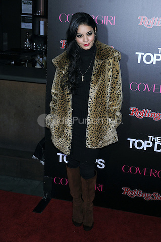 NEW YORK, NY - NOVEMBER 07: Vanessa Hudgens attends the Rolling Stone & Cover Girl Top DJ's event at TAO on November 7, 2012 in New York City. Credit: mpi01/MediaPunch Inc.