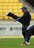 India's Sashin Tendulkar limbers up during 2nd Twenty20 cricket match match between New Zealand Black Caps and West Indies at Westpac Stadium, Wellington, New Zealand on Friday, 27 February 2009. Photo: Dave Lintott / lintottphoto.co.nz