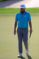 Tyrrell Hatton (ENG) on the 15th fairway during the 1st round of the DP World Tour Championship, Jumeirah Golf Estates, Dubai, United Arab Emirates. 15/11/2018<br /> Picture: Golffile | Fran Caffrey<br /> <br /> <br /> All photo usage must carry mandatory copyright credit (&copy; Golffile | Fran Caffrey)