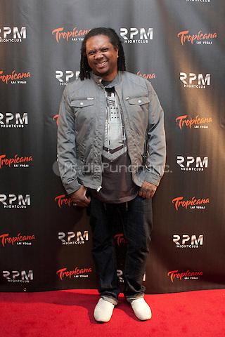 Donald Glaude at the opening of RPM nightclub at the Tropicana in Las Vegas, NV on December 30, 2011. <br /> Erik Kabik / MediaPunch.