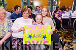 At the Ardfert NS Strictly Come Dancing in the Ballyroe Heights Hotel on Saturday night were Yvonne O'sullivan, Katy O'Shea and Danielle O'Sullivan supporting Marcus and Grainne