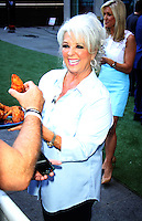 NEW YORK, NY-July 06: Paula Deen  cooking for National Fried Chicken Day at Fox & Friend in New York. NY July 06, 2016. Credit:RW/MediaPunch