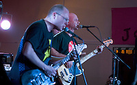 Members of Primeval Soup - Brighton's Finest Ska-punkers @ Autonomous spaces fundraiser, Easton Community Centre, Kilburn Street, Easton, Bristol, Dec 2010
