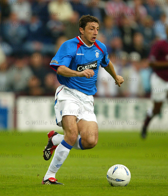 Shota Arveladze, Rangers.stock season 2003-04..pic willie vass