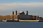 Ellis Island, , at the mouth of the Hudson River in New York Harbour, was at one time the main immigration port for immigrants entering the United States in the late 19th and early 20th centuries.