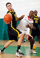 April 9, 2011 - Hampton, VA. USA;  Georges Naing participates in the 2011 Elite Youth Basketball League at the Boo Williams Sports Complex. Photo/Andrew Shurtleff