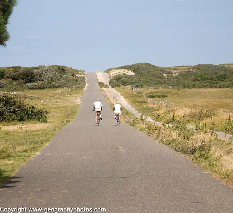 Sand dunes south of Scheveningen Holland