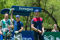 Thomas Detry (BEL) on the 1st tee on the 1st tee during the first round at the Nedbank Golf Challenge hosted by Gary Player,  Gary Player country Club, Sun City, Rustenburg, South Africa. 14/11/2019 <br /> Picture: Golffile | Tyrone Winfield<br /> <br /> <br /> All photo usage must carry mandatory copyright credit (© Golffile | Tyrone Winfield)