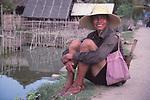 China, a Dai man in Xishuangbanna Dai Autonomous Prefecture, Yunnan